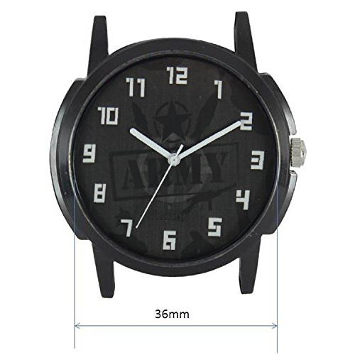 Generic Freny Exim Army Strap Casual Leather Multicolour Dial Boys Analogue Watch - For Men