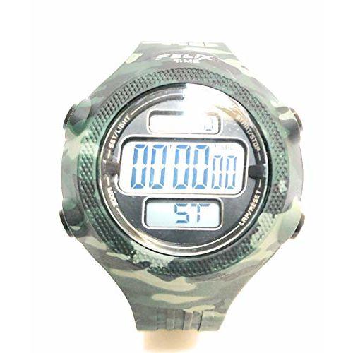 Generic Digital Black Dial Men Watch_f268