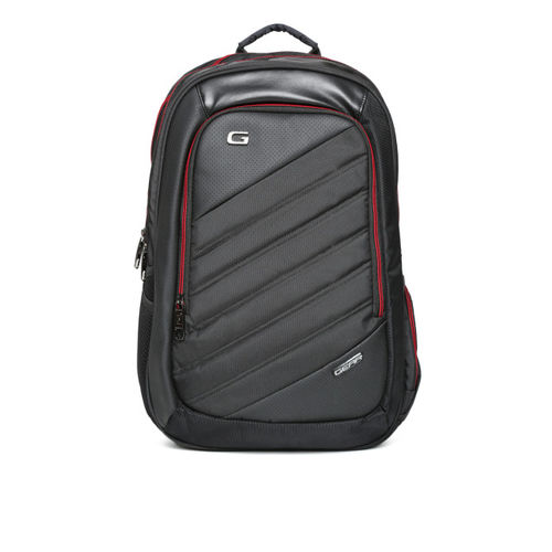 Gear Unisex Black Compack Laptop Backpack