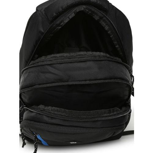 Fastrack Unisex Black Solid Backpack