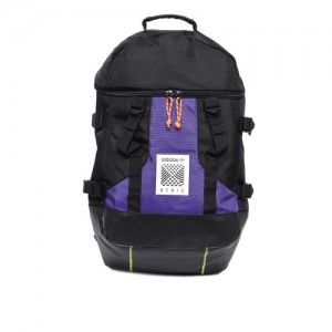 f5a98f9f57 ADIDAS Originals Unisex Black & Purple Artic L Colourblocked Laptop Backpack