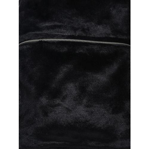ADIDAS Originals Unisex Black Classic S Faux Fur Backpack