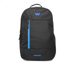 Wildcraft Unisex Black Solid Backpack