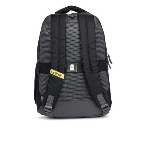 Skybags Unisex Black Printed Laptop Backpack