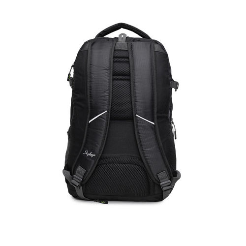 Skybags Unisex Black TECKIE 04 LAPTOP Backpack