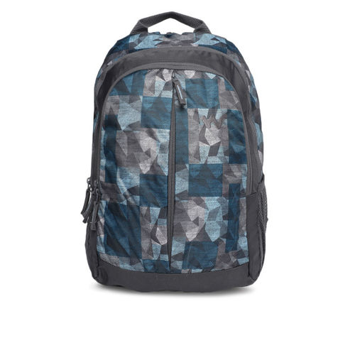 Wildcraft Unisex Blue Graphic Backpack