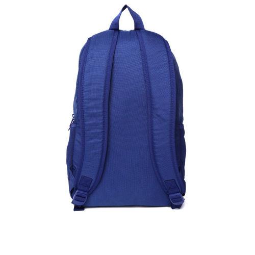 ADIDAS Unisex Blue Lin Per Brand Print Backpack