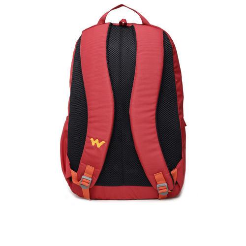 Wildcraft Unisex Red & Orange Brand Logo Backpack
