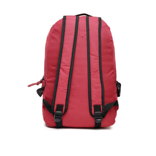 WROGN Unisex Red Solid Backpack