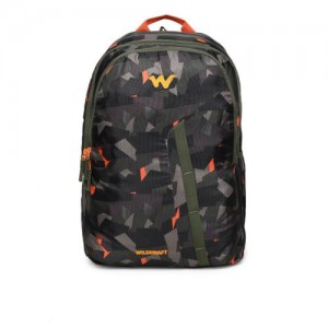 Wildcraft Unisex Grey Camouflage Print WC4 Backpack
