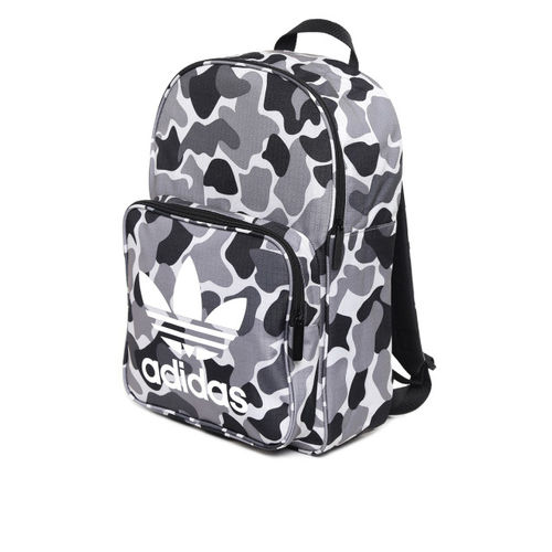 76376eb9ee ... ADIDAS Originals Unisex Grey   Black Classic Camouflage Print Backpack  ...