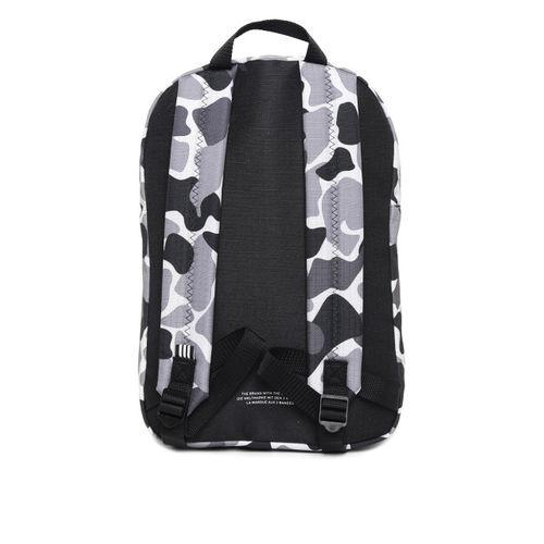ADIDAS Originals Unisex Grey & Black Classic Camouflage Print Backpack