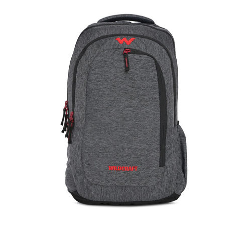 Wildcraft Unisex Grey Solid Melmyn 3 Backpack