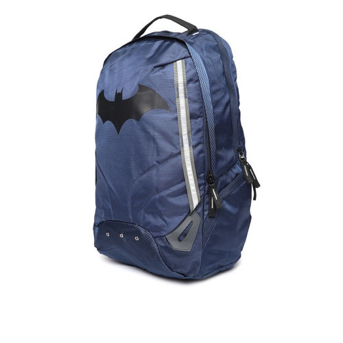 Kook N Keech Batman Unisex Navy Blue Laptop Backpack