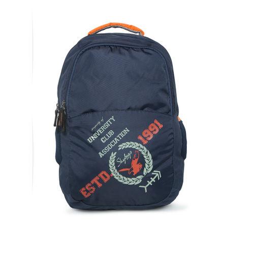 Skybags Unisex Navy Blue Geek 01 Laptop Backpack