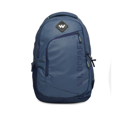 Wildcraft Unisex Navy Blue Maestro Plus Solid Backpack