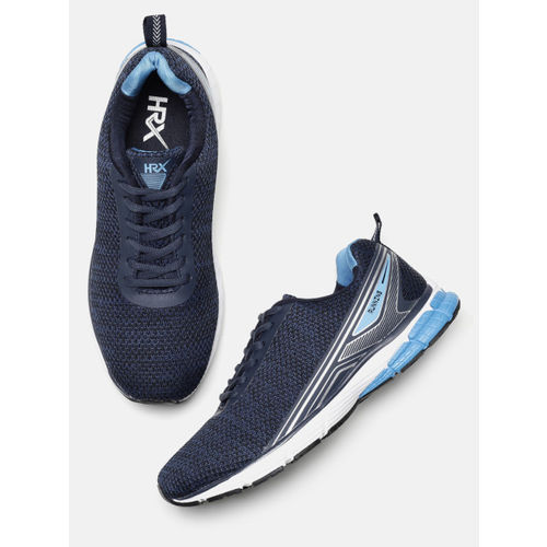b57cc8eac Buy HRX by Hrithik Roshan Men Navy Blue Impact Series Running Shoes ...