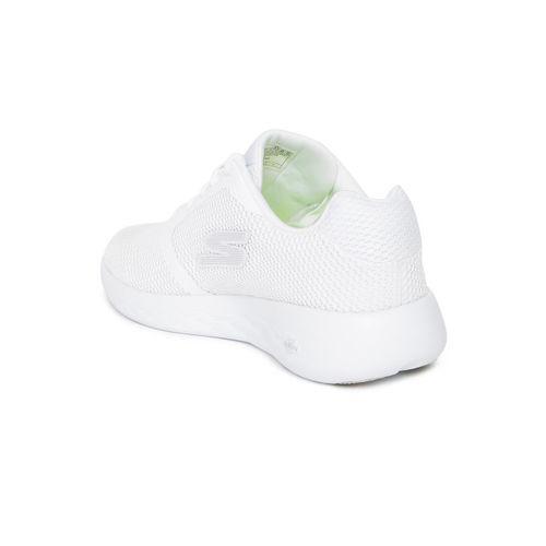 Skechers Men White GO RUN 600 - REFINE Training Shoes