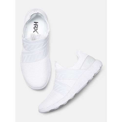 3fdac82cf Buy HRX by Hrithik Roshan Men White Rage-2 Running Shoes online ...
