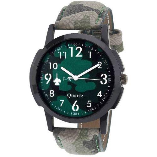Tarido TD1586SL23 Classic multicolor dial multicolor leather strap analog wrist Watch - For Men