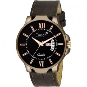 Carson CR8003 DayAndDate Multi-function Watch - For Men