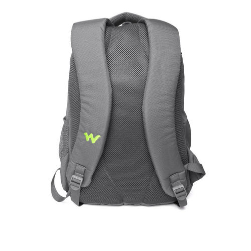 Wildcraft Unisex Green & Grey Geek 2 Solid Backpack