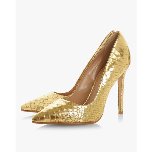 a17675cad9 Buy Dune London Banksy Metallic Pointy-Toe Heeled Court Shoes online ...