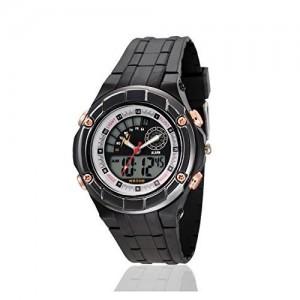 Yepme Black Round Analog Digital Black Dial Watch - YPMWATCH3911