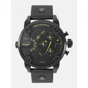 DIESEL Men Black Analogue Watch DZ7257_OR