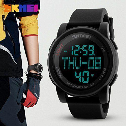 SKMEI Digital Dial Men's Watch-1317 Black