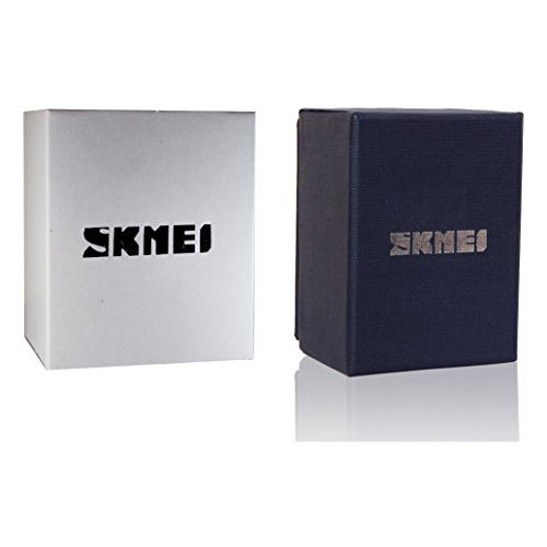 Skmei Digital Black Dial Men's Watch - 1243