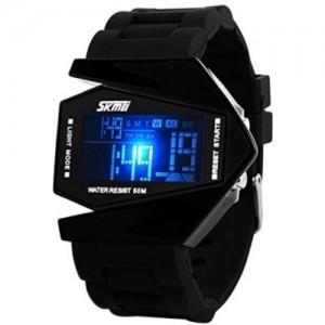 Skmei 0817B-Black Digital Watch - For Men & Women