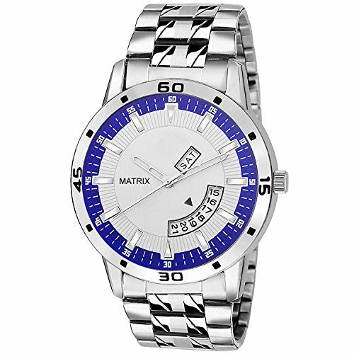Matrix Analog Day and Date Display Wrist Watch for Men/Boys (DD-37)
