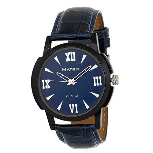 Matrix Analog Blue Dial Men's Watch-WCH-136