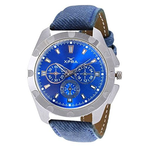 Matrix Casual Analogue Blue Dial Men's Watch-WCH-194
