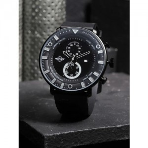 Roadster Black Round Analogue Watch MFB-PN-WTH-S9689G