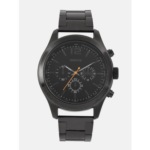 Roadster Black Round Analogue Watch MFB-PN-WTH-R9662