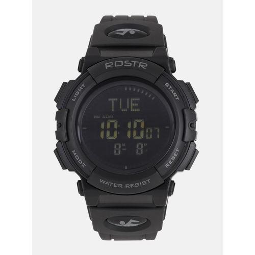 Roadster Black Round Digital Watch MFB-PN-SKM-1290
