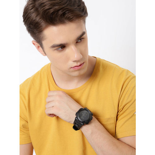 Roadster Black Round Digital Watch MFB-PN-SKM-1290