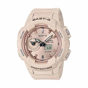 Casio Baby-g Analog-Digital Rose Gold Dial Women's Watch - BGA-230SA-4ADR (BX117)