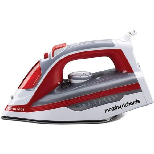Morphy Richards Ultra Glide Steam Iron(Red, Grey, White)