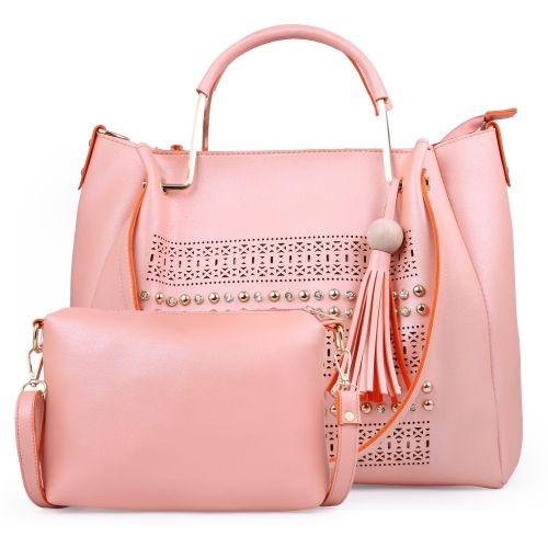 Fiesto fashion Pink Polyurethane Shoulder Bag