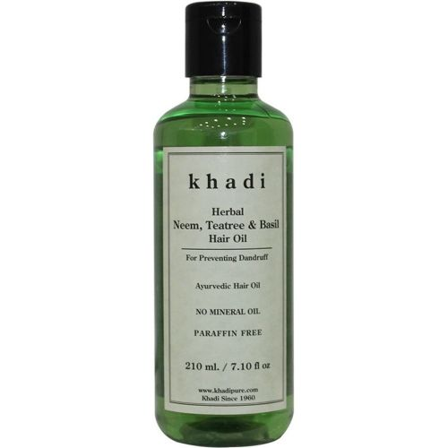 Khadi Herbal Neem, Teatree & Basil Hair Oil