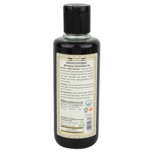 Khadi Natural Bhringraj Herbal Hair Oil