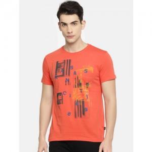 928e0957013 Buy Clifton Men s Printed Half Sleeve V-Neck T-Shirt-Dark Green ...
