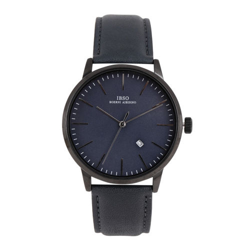 IBSO Men Navy Blue Analogue Watch S8616GBL