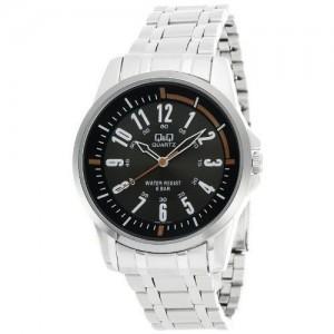 Q&Q Silver Round Analog Watch - Q708J405Y