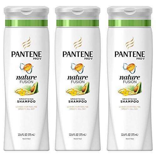 Pantene Pro-V Nature Fusion Smoothing Shampoo with Avocado Oil 12.6 fl oz (Pack of 3)