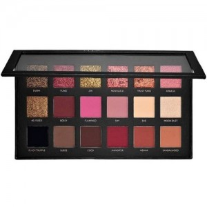 Huda Beauty Textured Eye Shadow Palette- Rose Gold Edition 25.2 g