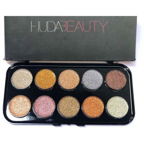 Huda Beauty Giltter Eyeshadow Palette 10 g